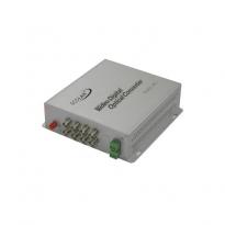 4 Kanal Video Coax Çevirici, +1 Kanal RS-485/422 Datalı